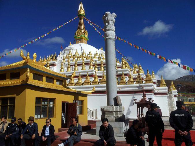 Inauguration of Ashoka Stupa_Nangchen
