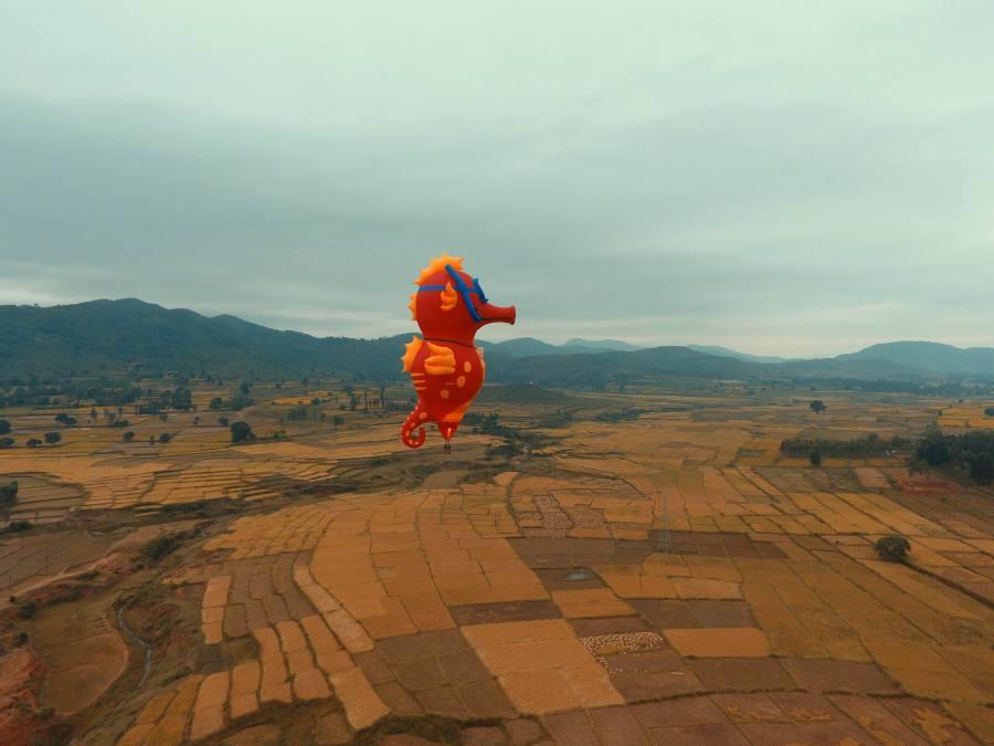 The special shaped balloon at Araku
