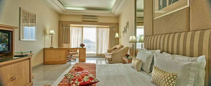 Comfortable rooms at the resort