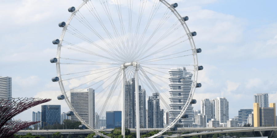 Ferris Wheel in Singapore