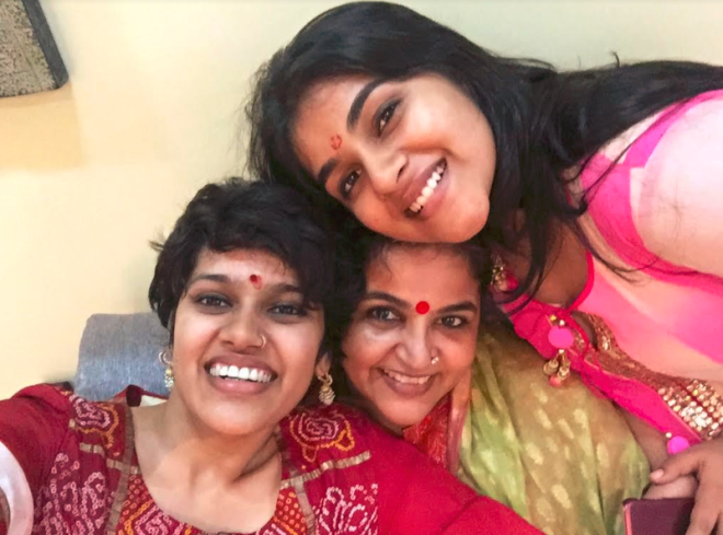 Naina Jain, Riddhi and Shrutika