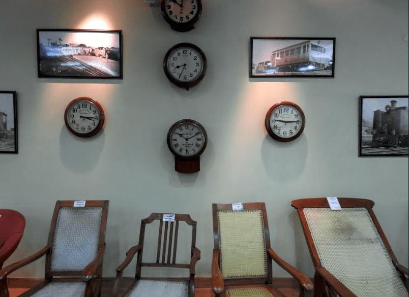 Exhibit in Bhalku Rail Museum