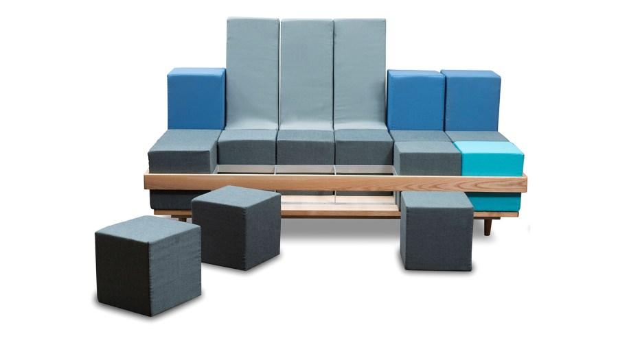 Puzzly Sofa Set Courtesy: Fabrento