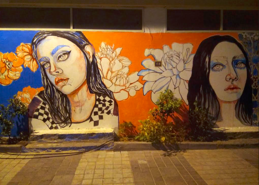 Street art in Bahrain