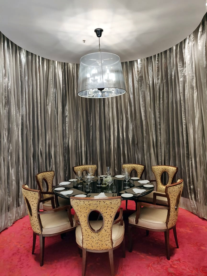 Private Dining Area at Alba