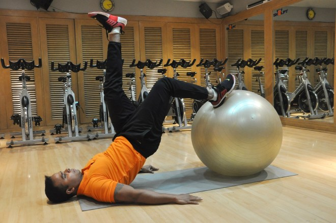 Skulpt Swiss Ball Hip Extension