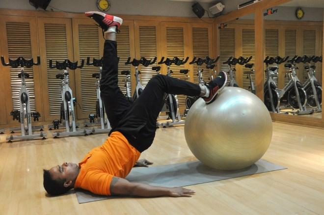 Skulpt Swiss Ball Hip Extension