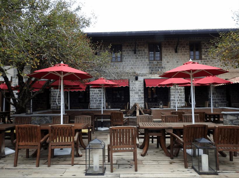 Outdoor spaces at Tamara Kodai