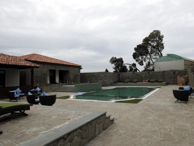 Swimming pool at Tamara Kodai