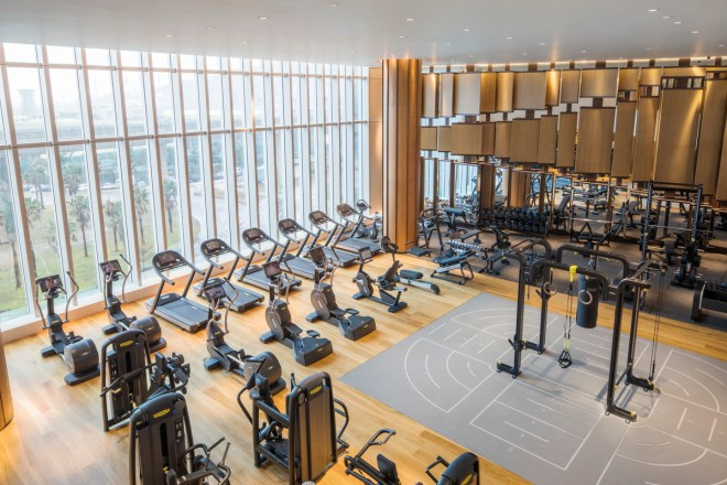 Gym at MGM Cotai
