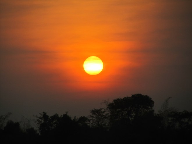 Sunset in Kabini