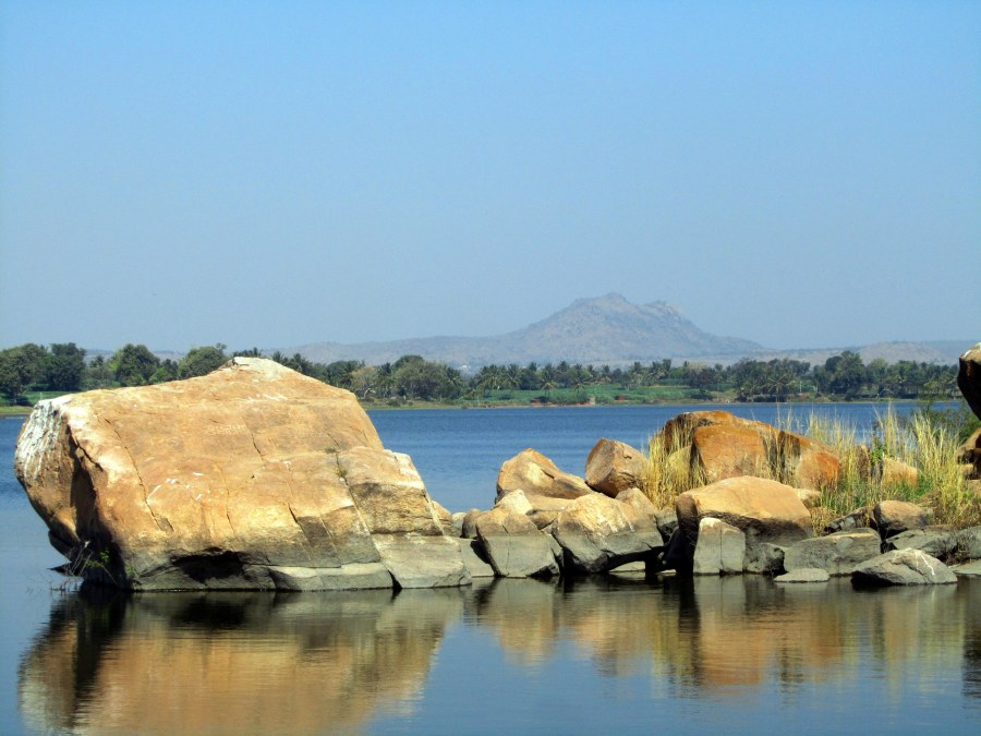 Boulders on the River Cauvery