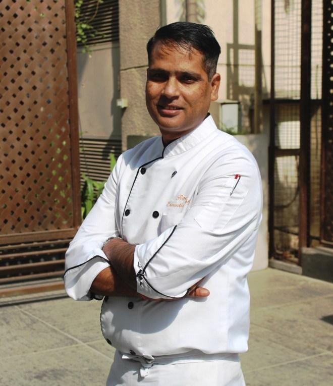 Chef Ravi Shankar Sharma-Novotel Ahmedabad