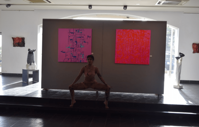 Silence of Words Curated by Akhilesh (Art x Dance)