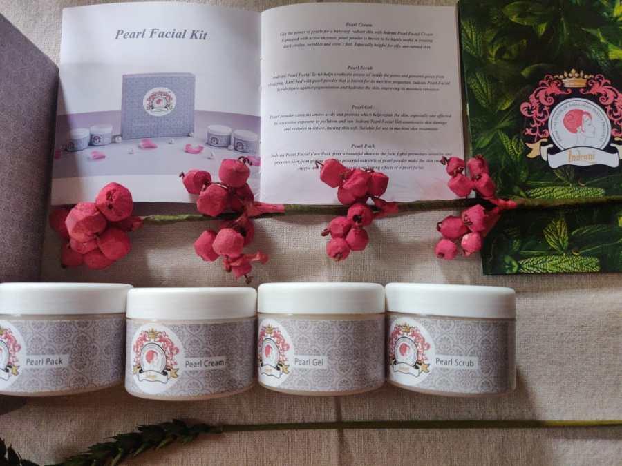 Indrani Pearl Facial Kit