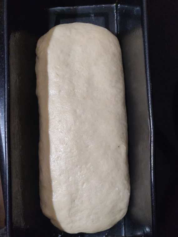Step 5: the dough in the mold