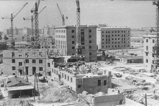 Rok 1954 - budowa Nowej Huty