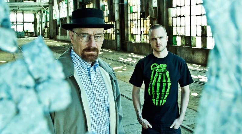 Walter White and Jesse Pinkman from Breaking Bad