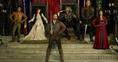 The cast of Galavant