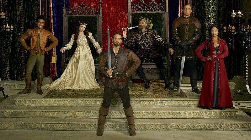 The cast of Galavant