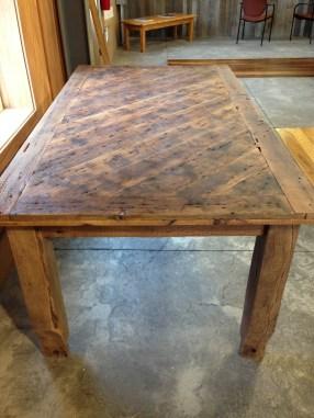 Rustic Barnboard Table