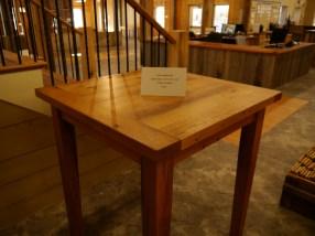 Reclaimed Oak high-top table