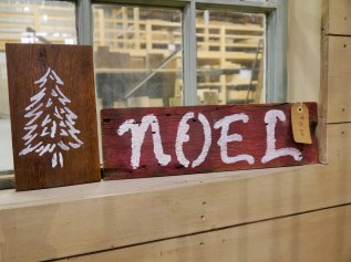 Reclaimed Wood Signs