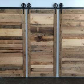 Barnboard Sliding Barn Doors
