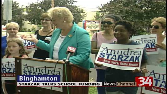 Education funding a primary concern for Starzak_-8753364517503088902