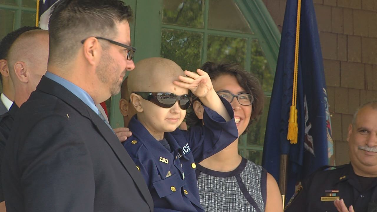 Ithaca boy with brain cancer salutes-118809342