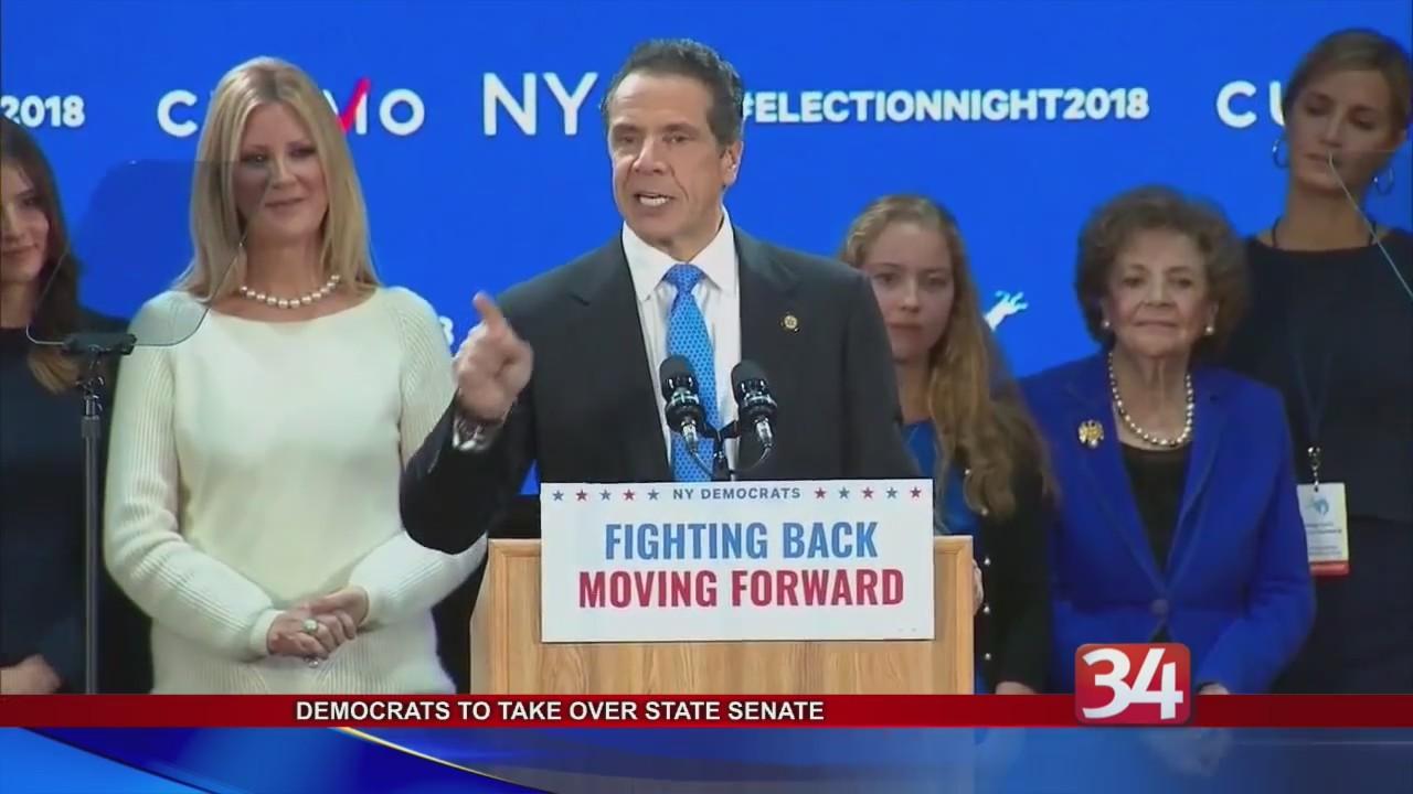 Democrats win NYS Senate