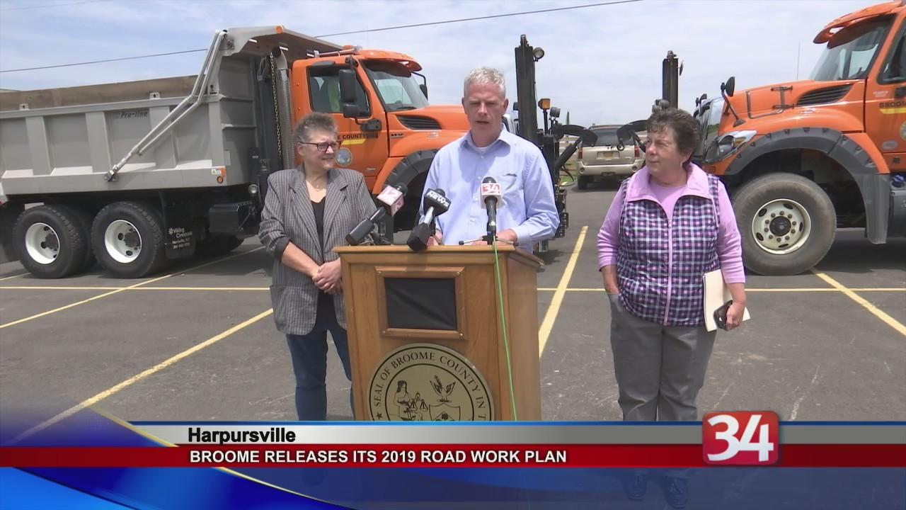 BC Road Work Plan