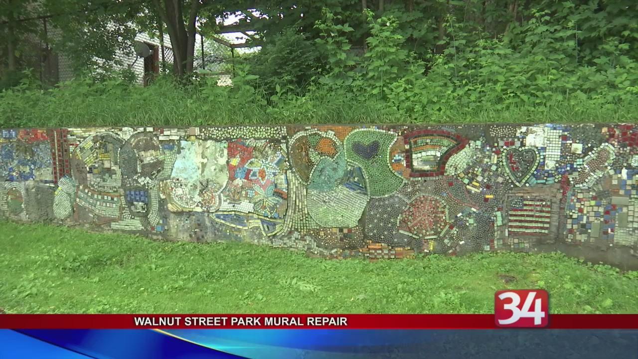 Walnut Park Mural Repair