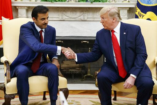 Donald Trump, Tamim Bin Hamad Al-Thani