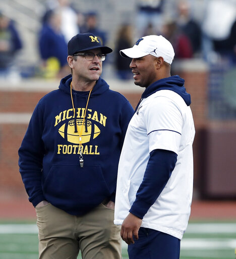 Jim Harbaugh, Josh Gattis