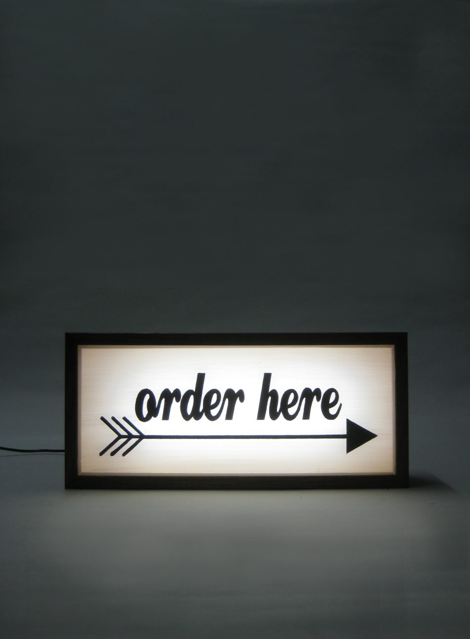Ordering Light Box