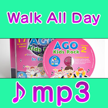 Walk-All-Day row your boat esl kids song