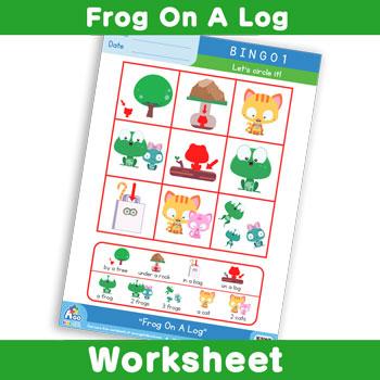 Frog On A Log - Bingo 1