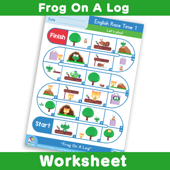 Frog-On-A-Log---English-Race-Time-1