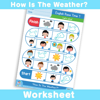 How is the weather - english race time 1