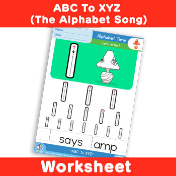 ABC To XYZ (The Alphabet Song) - Lowercase l