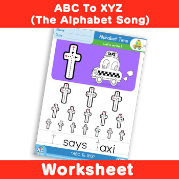 ABC To XYZ (The Alphabet Song) - Lowercase t