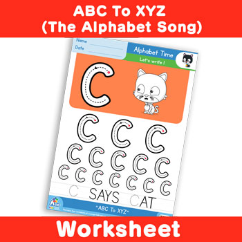 Free Alphabet Writing Practice Worksheet Alphabet Time Uppercase