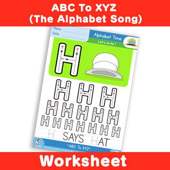 ABC To XYZ (The Alphabet Song) - Uppercase H
