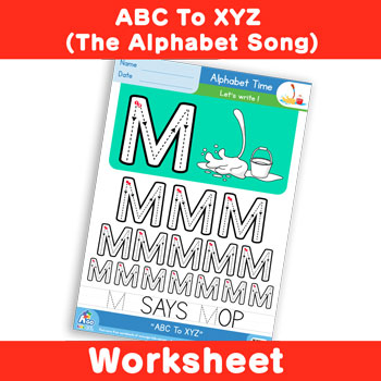 ABC To XYZ (The Alphabet Song) - Uppercase M