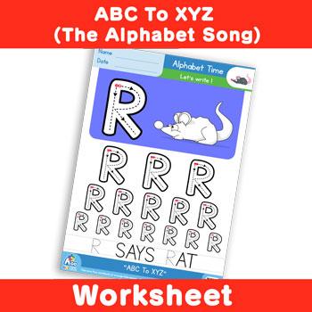 ABC To XYZ (The Alphabet Song) - Uppercase R