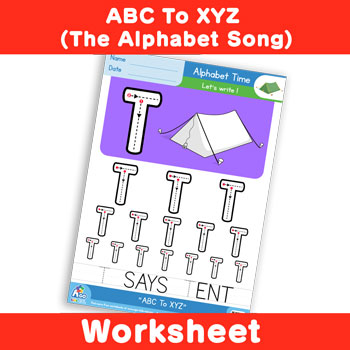 ABC To XYZ (The Alphabet Song) - Uppercase T