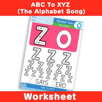 ABC To XYZ (The Alphabet Song) - Uppercase Z