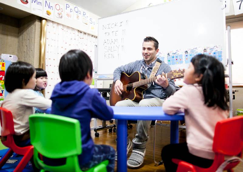 teaching at an eikaiwa