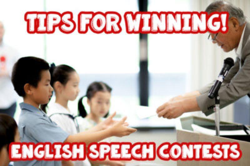 win english speech contest in japan
